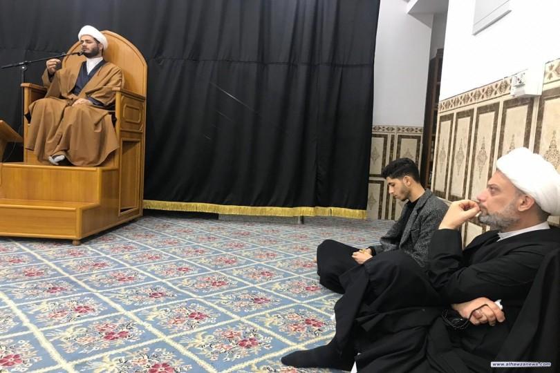بالصور : مدرسة اعلام الهداية تقيم مجلس عزاء في ذكرى وفاة ام البنين
