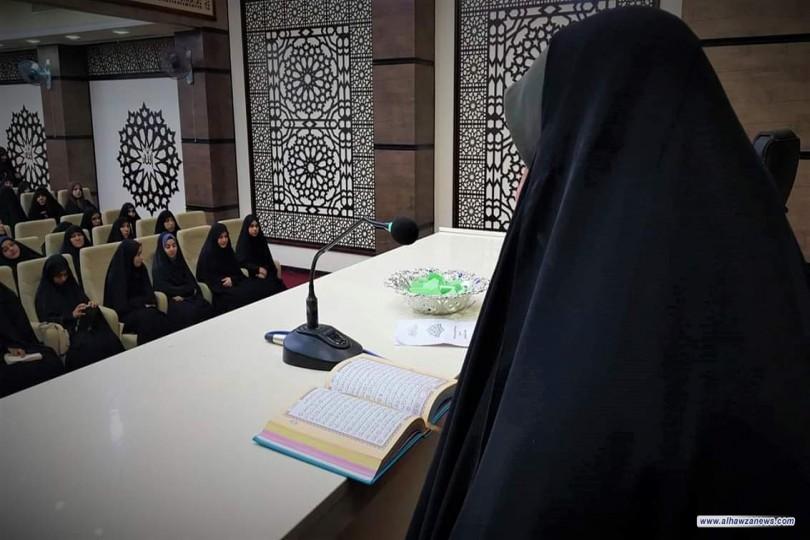 احتفال توزيع جوائز مسابقة (هكذا علّمني ديني)  التي نظمها معهد العقيلة للتبليغ الإسلامي