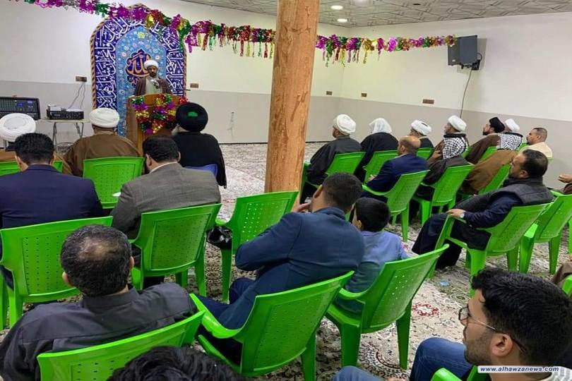 افتتاح جامع الرسول الاعظم صلى الله عليه وآله وسلم  في منطقة الجزيرة في قضاء شط العرب شرق البصرة