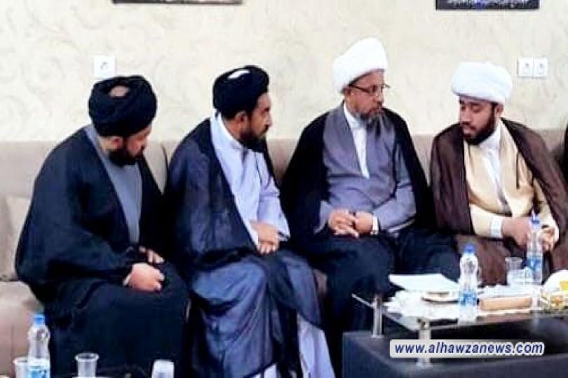 *مسؤول اختبارات وزارة المعارف الأفغانیة  یزور مکتب سماحة المرجع الیعقوبي في مشهد المقدسة*