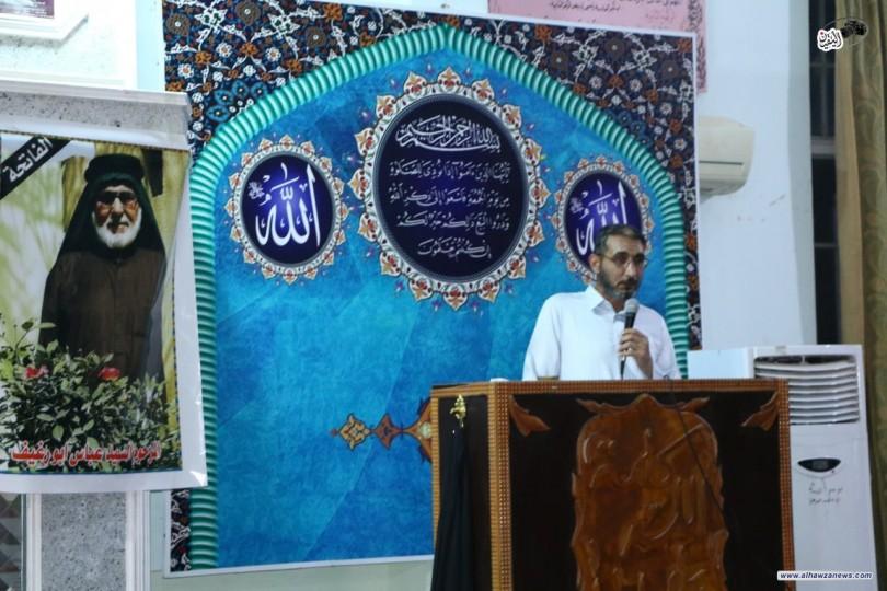 مؤسسة فيض الزهراء ( ع) فرع واسط تنظم محفلاً قرأنياً لروح العلامة السيد عباس ابو رغيف ( رحمه الله)