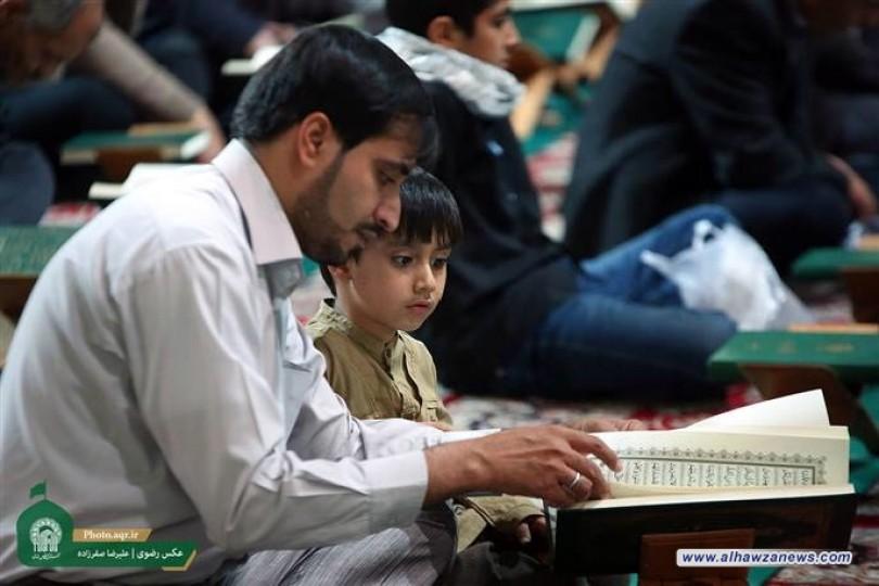 إقامة المحفل القرآني الثاني للأطفال الناشئين العرب في الحرم الرضوي