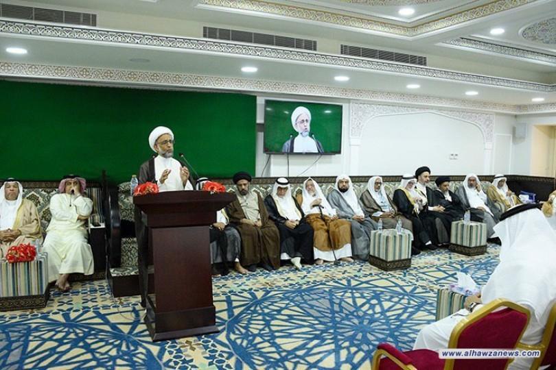الشيخ الصفار: الاعتقاد بإمامة علي يستلزم الاقتداء به والاستضاءة بعلمه