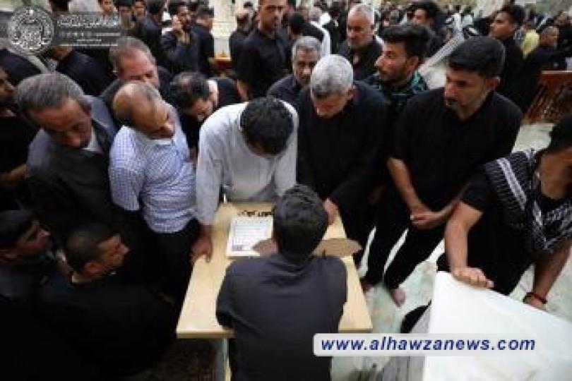 قسم الشؤون الدينية يختتم برنامج المحطات الاستفتائية بمناسبة رحيل النبي الاكرم (صلى الله عليه واله)