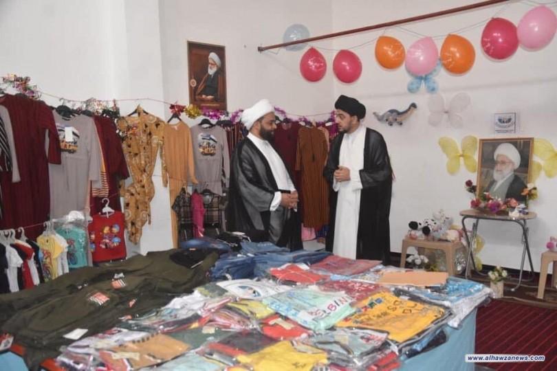 توزيع اكثر من 4000 كسوة بمناسبة قرب حلول عيد الفطرالمبارك
