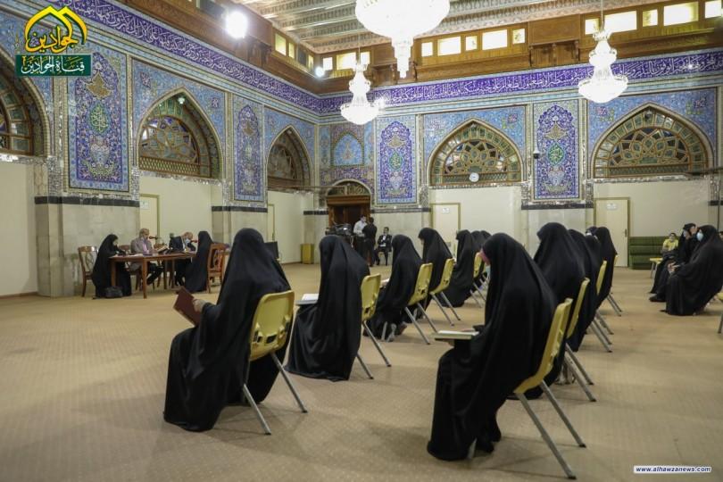 دار القرآن الكريم يجري اختبارات لطلبة دوراتها لحفظ القرآن الكريم