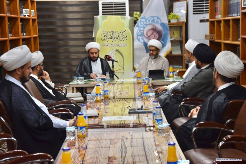 مركز الإمام الصادق عليه السلام يقيم ندوته العلمية التخصصية بمناسبة عيد الغدير .