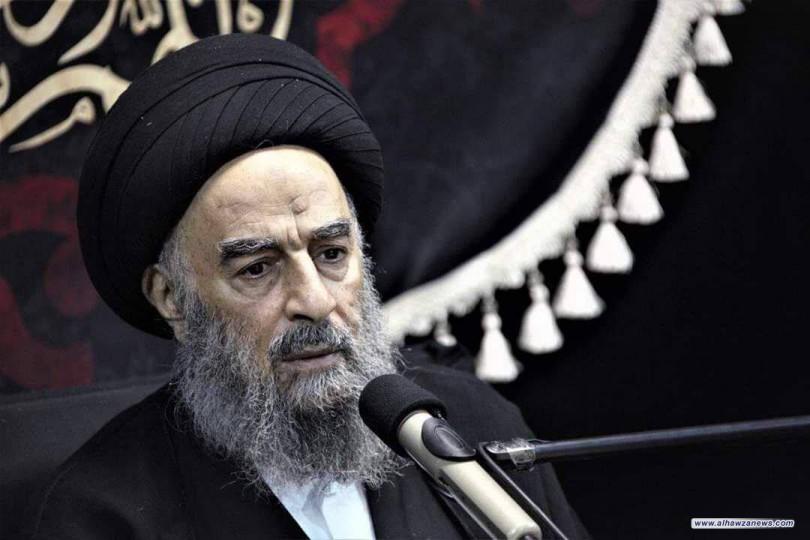 المرجع_المدرسي يطالب المجتمع الدولي بالقيام بمسؤوليته لإيقاف الأعمال الإرهابية في أفغانستان
