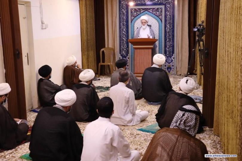 المرجع اليعقوبي يلقي خطبتي عيد الفطر المبارك - الفتن تصقل شخصية المؤمن وتفجّر طاقاته
