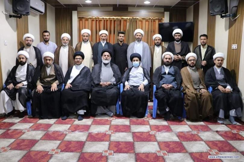 وفد مكتب المرجع اليعقوبي يزور محافظة واسط