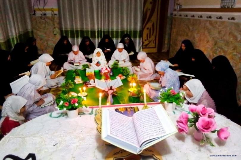 معهدُ القرآن الكريم النسويّ وفروعه ينظّم عدداً من الختمات القرآنيّة