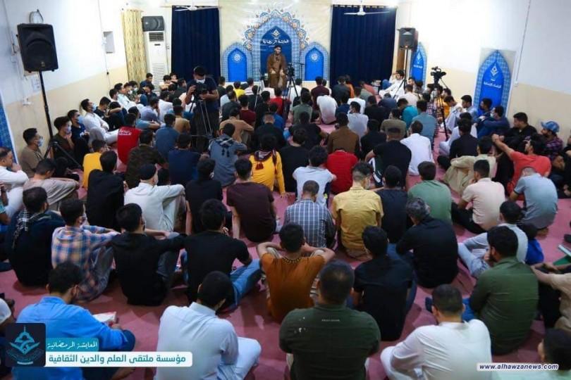 مؤسسة ملتقى العلم والدين الثقافية في العراق تحيي ليلة القدر المباركة وسط اجواء ايمانية وروحانية.
