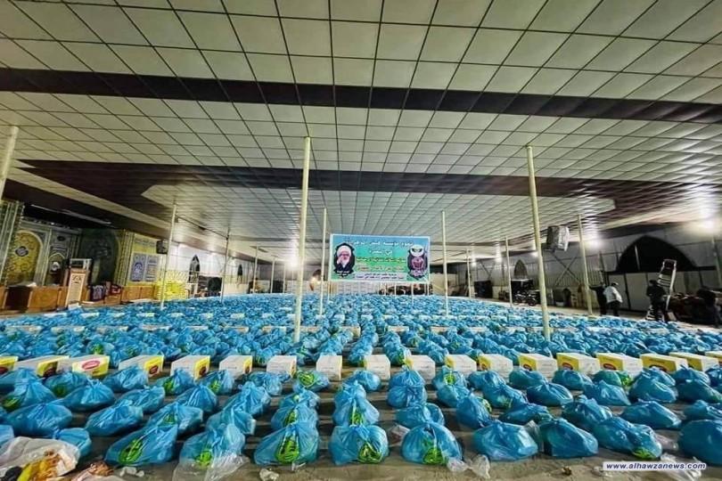 مؤسسة فيض الزهراء (ع) للأيتام والفقراء تعلن توزيعها أكثر من 20.000 الف سلة غذائية للعوائل الفقيرة والمتعففة