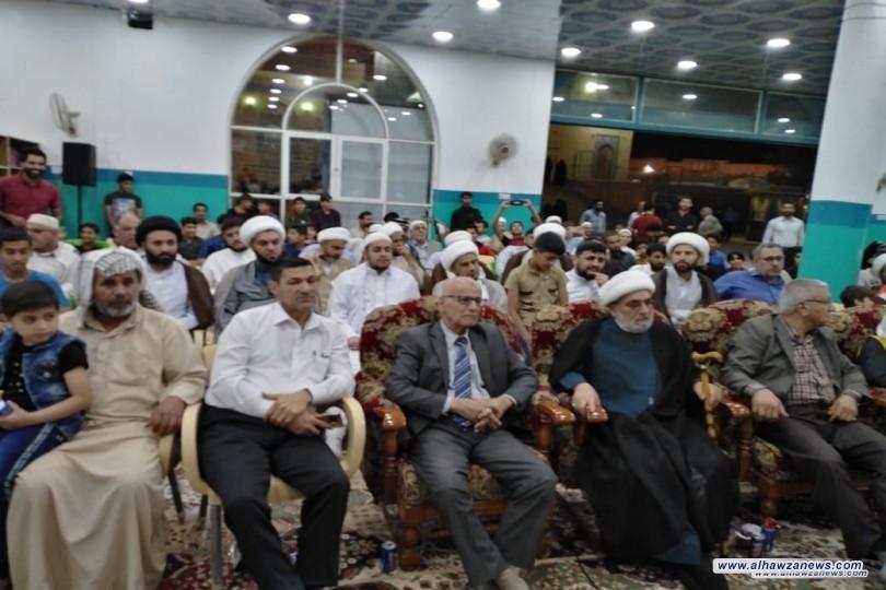مكتب  فضلاء النجف الاشرف يقيم حفل تكريم اكثر من ٢٠٠ ممن بلغوا التكليف