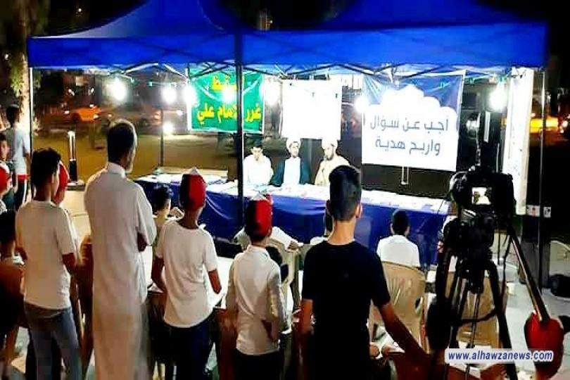 ضمن فعاليات اسبوع الولاية -  مدرسة الامام الصادق تحيي يوم الولاية في ساحة الحمزة  بمدينة الصدر