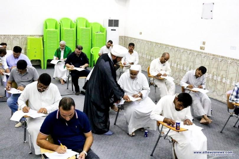 اللجنة المركزية المشرفة على فروع جامعة باقر العلوم الدينية تباشر في الامتحانات المركزية لفروعها