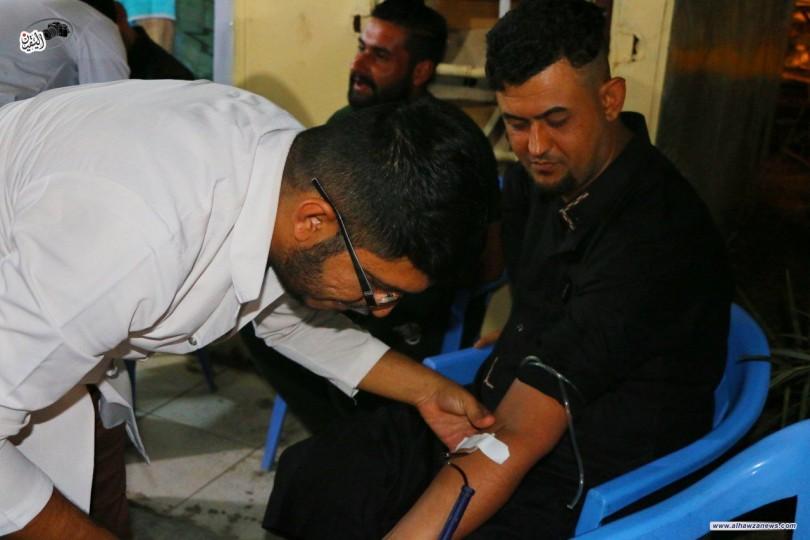 مكتب المرجع الديني الشيخ محمد اليعقوبي (دام ظله ) في واسط ينظم حملة للتبرع بالدم .