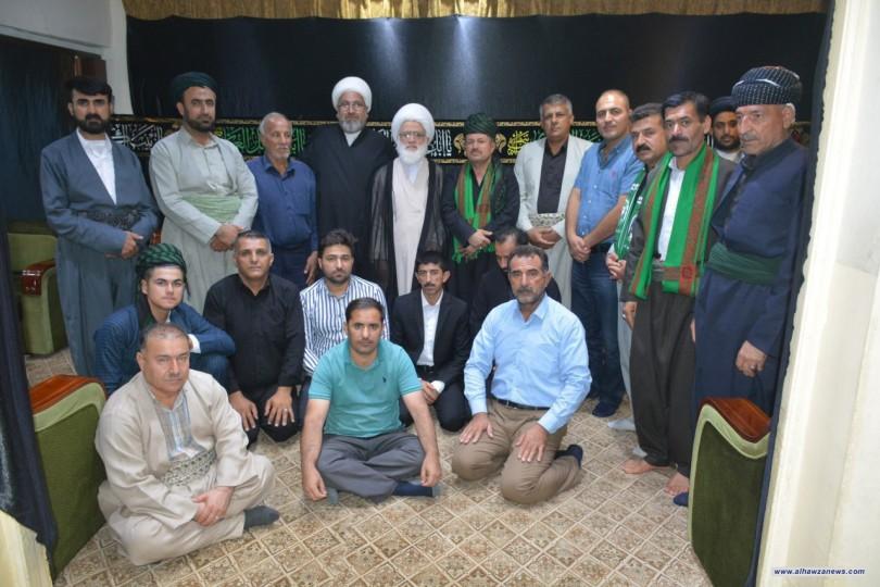 المرجع اليعقوبي (دام ظله) يستقبل وفداً من محبي أهل البيت(عليهم السلام ) في كردستان العراق
