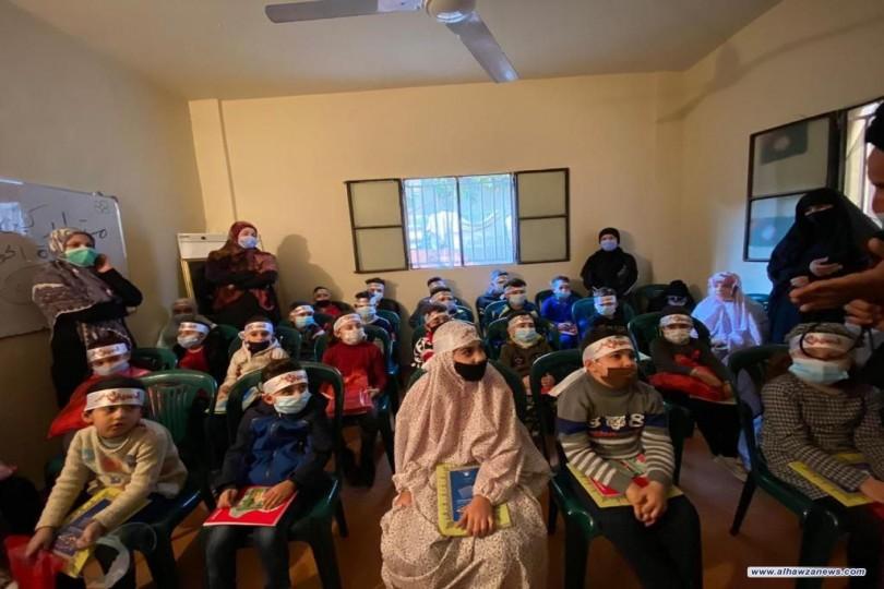 العتبة الحسينية تكرم 60 طالباًمن لبنان تحفيزاً لإتمام حفظ القرآن