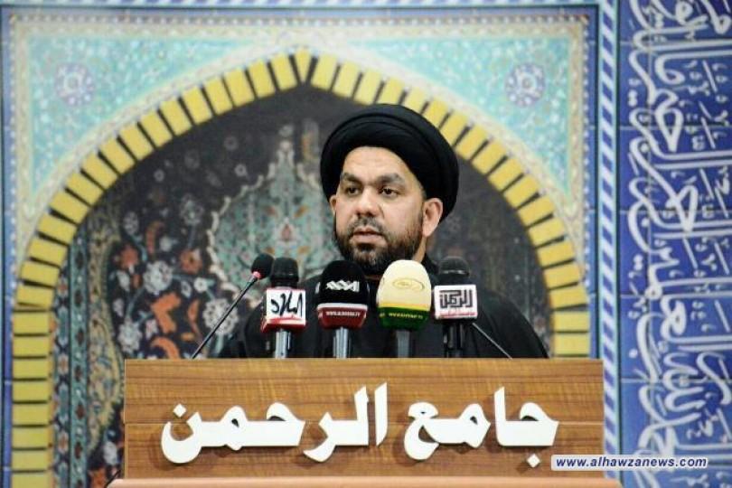 خطيب جمعة بغداد يوجه لومه الشديد لساسة العراق والبلدان العربية لتفشي اليأس والانتحار بين الناس